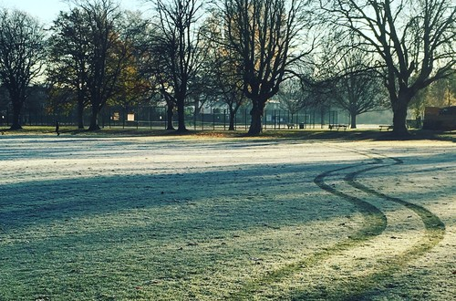 Our local South Park - frosty morning