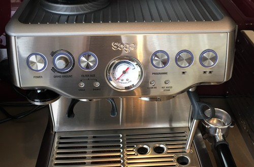 Our Sage Barista Express Coffee Machine makes an excellent shot of coffee. Cappuccino, latte or espresso - which is your favourite?